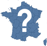 La france des départements.